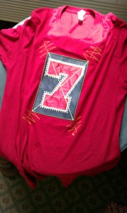 A replica of Edge's '7' shirt from Elevation