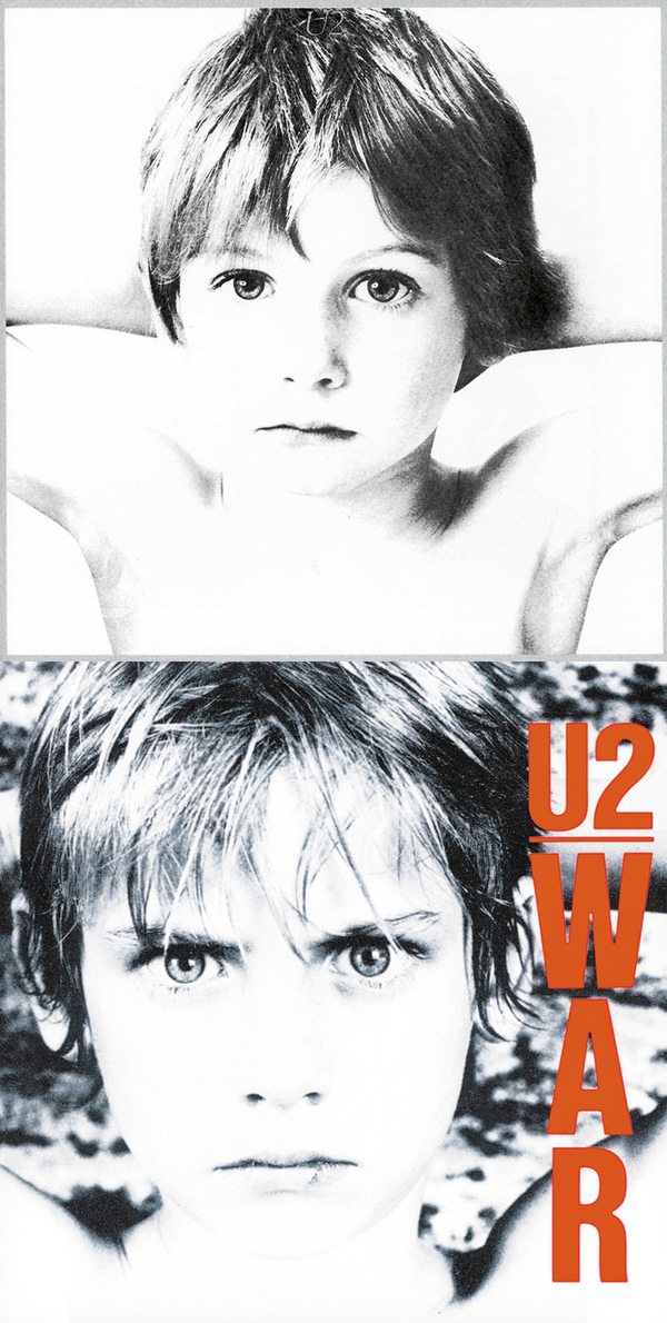 Naked and not afraid: U2's Songs Of Innocence cover