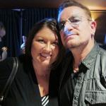 Michelle meets Bono. Boomcha!
