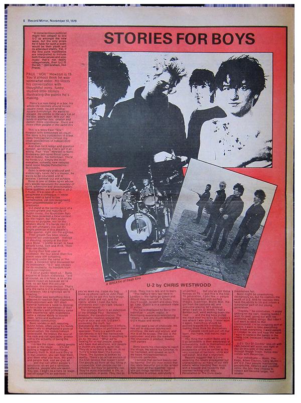 Record Mirror November 10, 1979